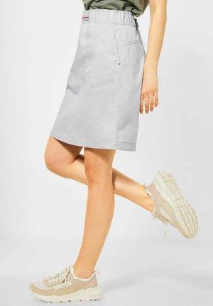 ROCK PAPERBAG - A-line skirt - grau