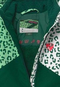 Ziener - ALANI JUN UNISEX - Snowboardová bunda - spruce green/white - 3
