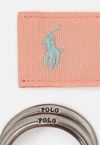 Polo Ralph Lauren - BELT CASUAL UNISEX - Pásek - deco coral - 2