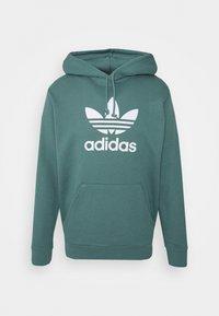 adidas Originals - TREFOIL HOODIE UNISEX - Hoodie - hazy emerald - 0