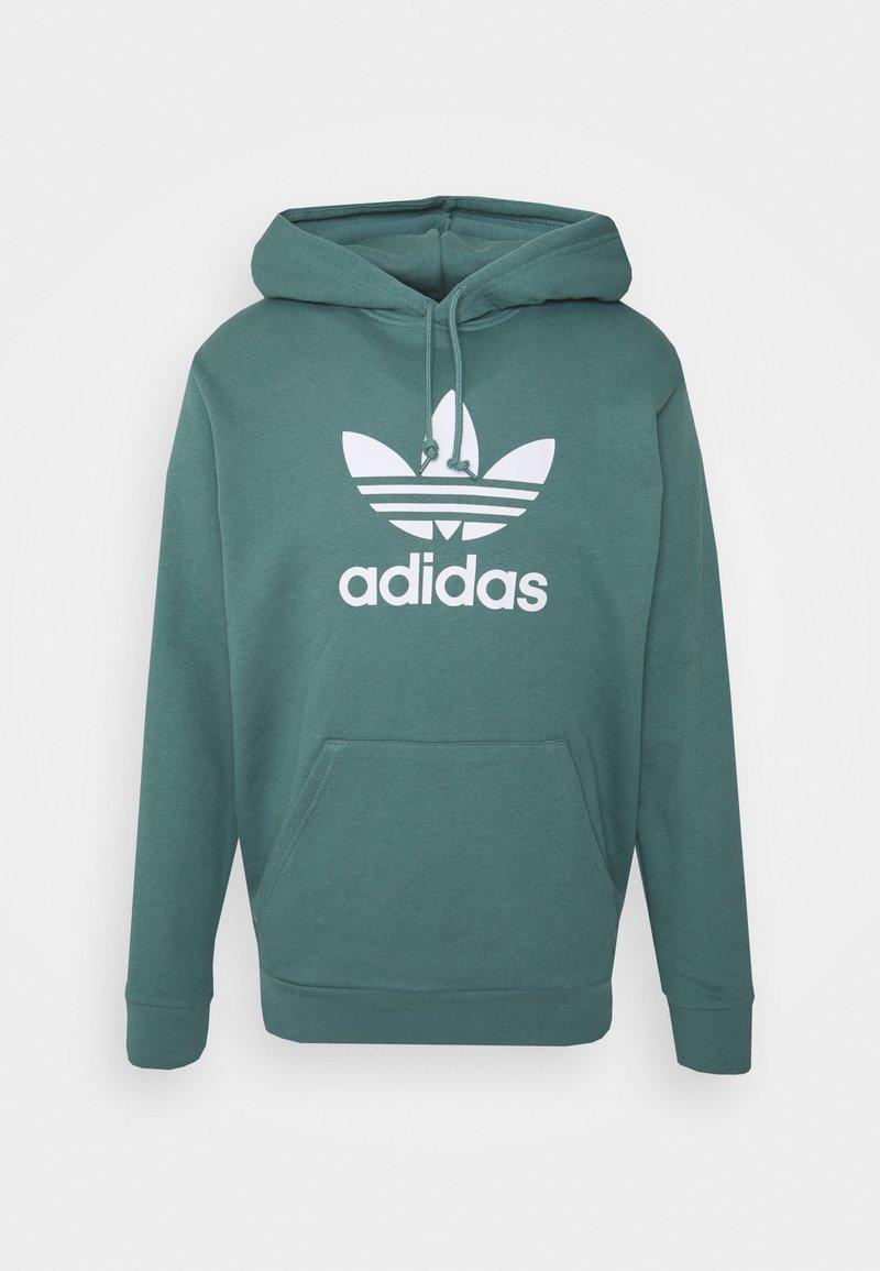 adidas Originals - TREFOIL HOODIE UNISEX - Hoodie - hazy emerald