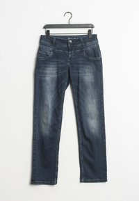 PULZ - Straight leg jeans - blue - 0