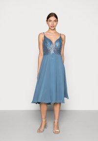 Swing - Cocktail dress / Party dress - vintage blue - 0