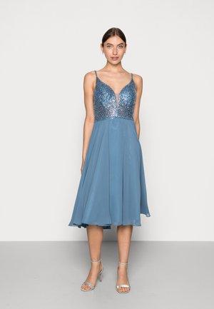 Cocktail dress / Party dress - vintage blue