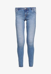 ONLY Tall - ONLALLAN PUSH UP  - Jeans Skinny Fit - light blue denim - 3