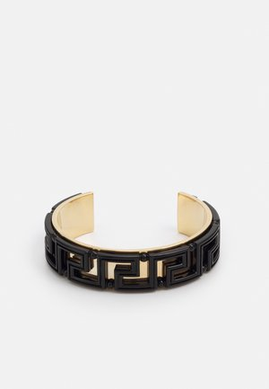 FASHION JEWELRY - Bracelet - black/gold-coloured