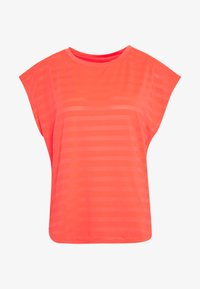 Even&Odd active - Print T-shirt - coral - 3