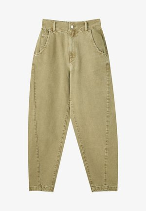 Straight leg jeans - khaki