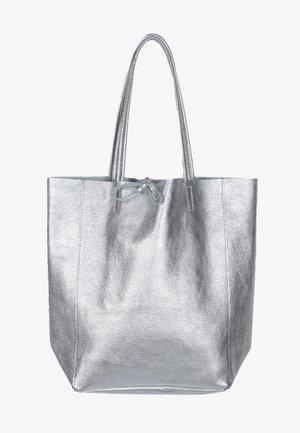 ANITA - Tote bag - silber