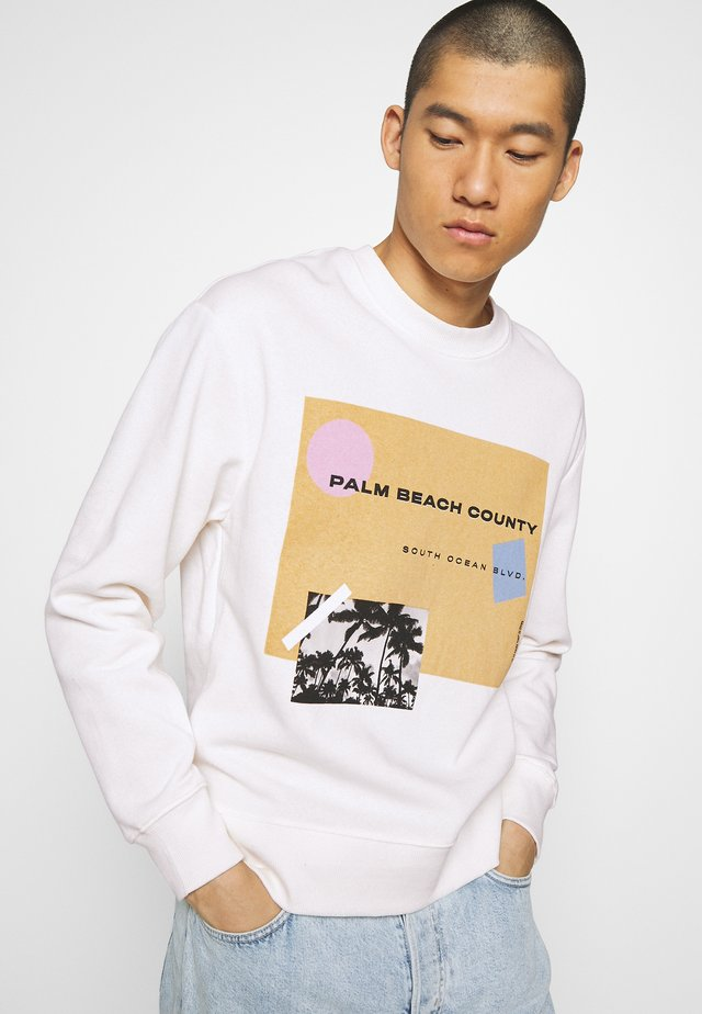 COUNTY - Sweatshirt - white