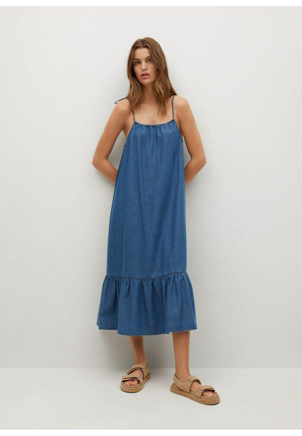 Women DONGERIK VOLANGER - Denim dress