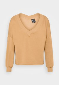Nike Performance - OFF MAT - Sweatshirt - praline/shimmer - 3