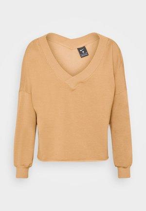 OFF MAT - Sweatshirt - praline/shimmer