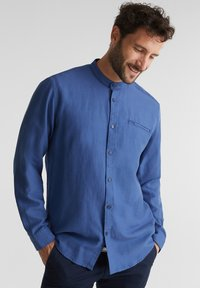 Esprit - WINTERWAFFL - Shirt - grey blue - 0