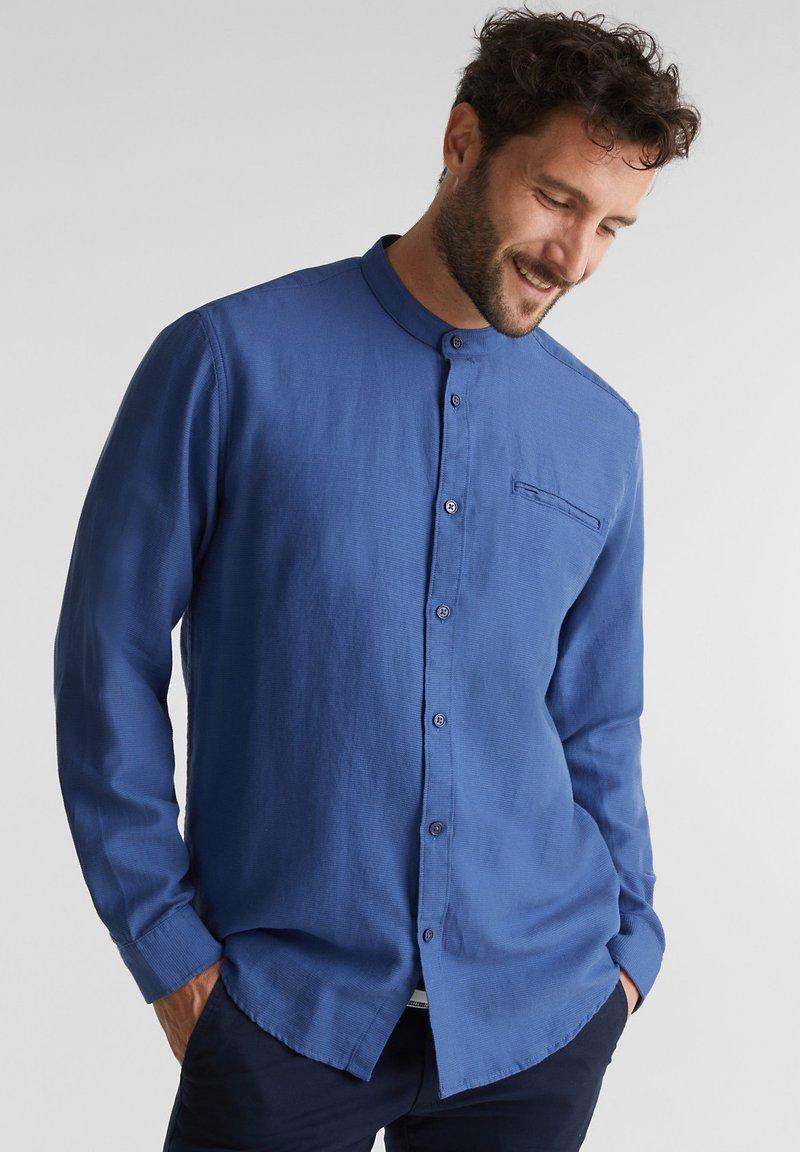 Esprit - WINTERWAFFL - Shirt - grey blue