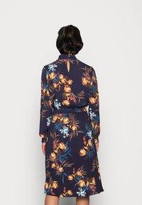 ONLY - ONLNOVA LUX SMOCK DRESS - Kjole - night sky/fall devon - 2