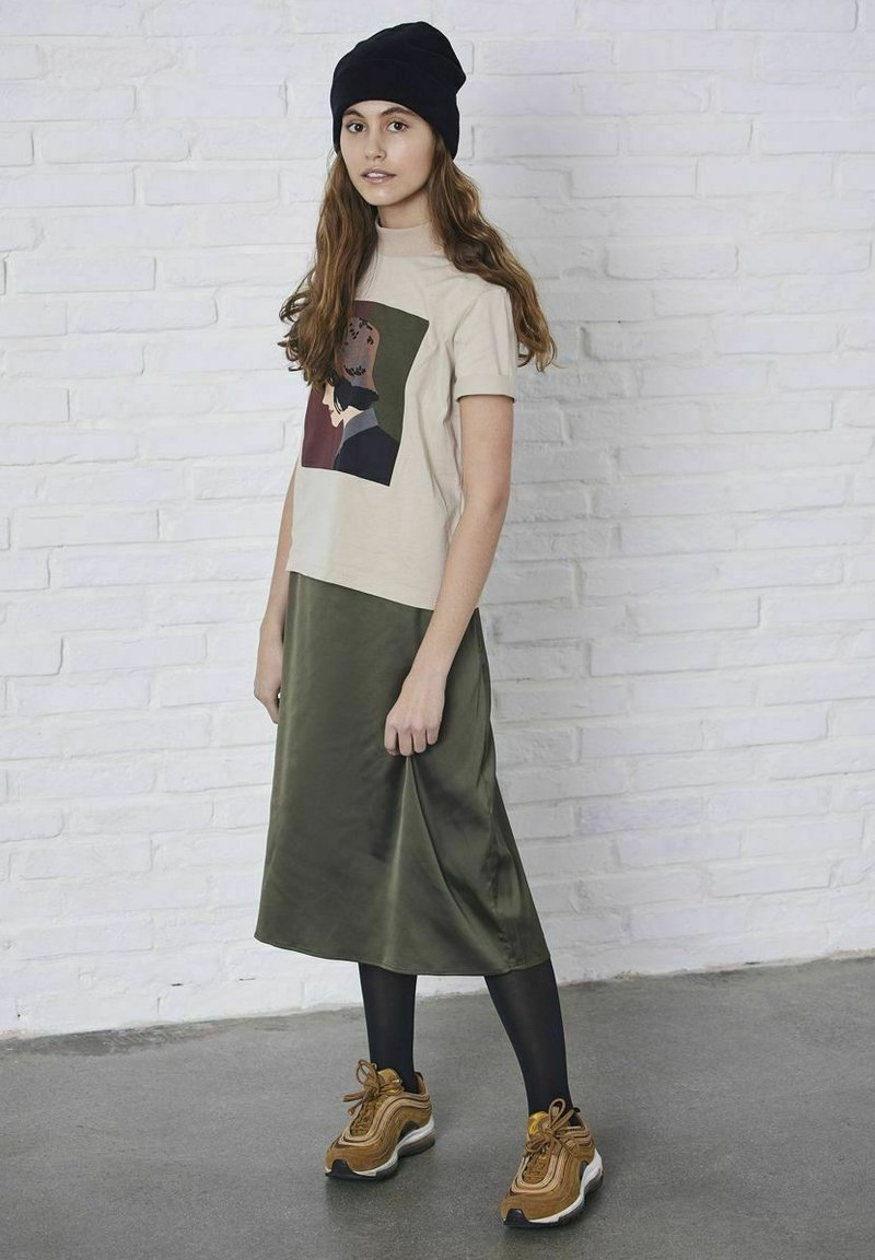 LMTD - A-line skirt - ivy green
