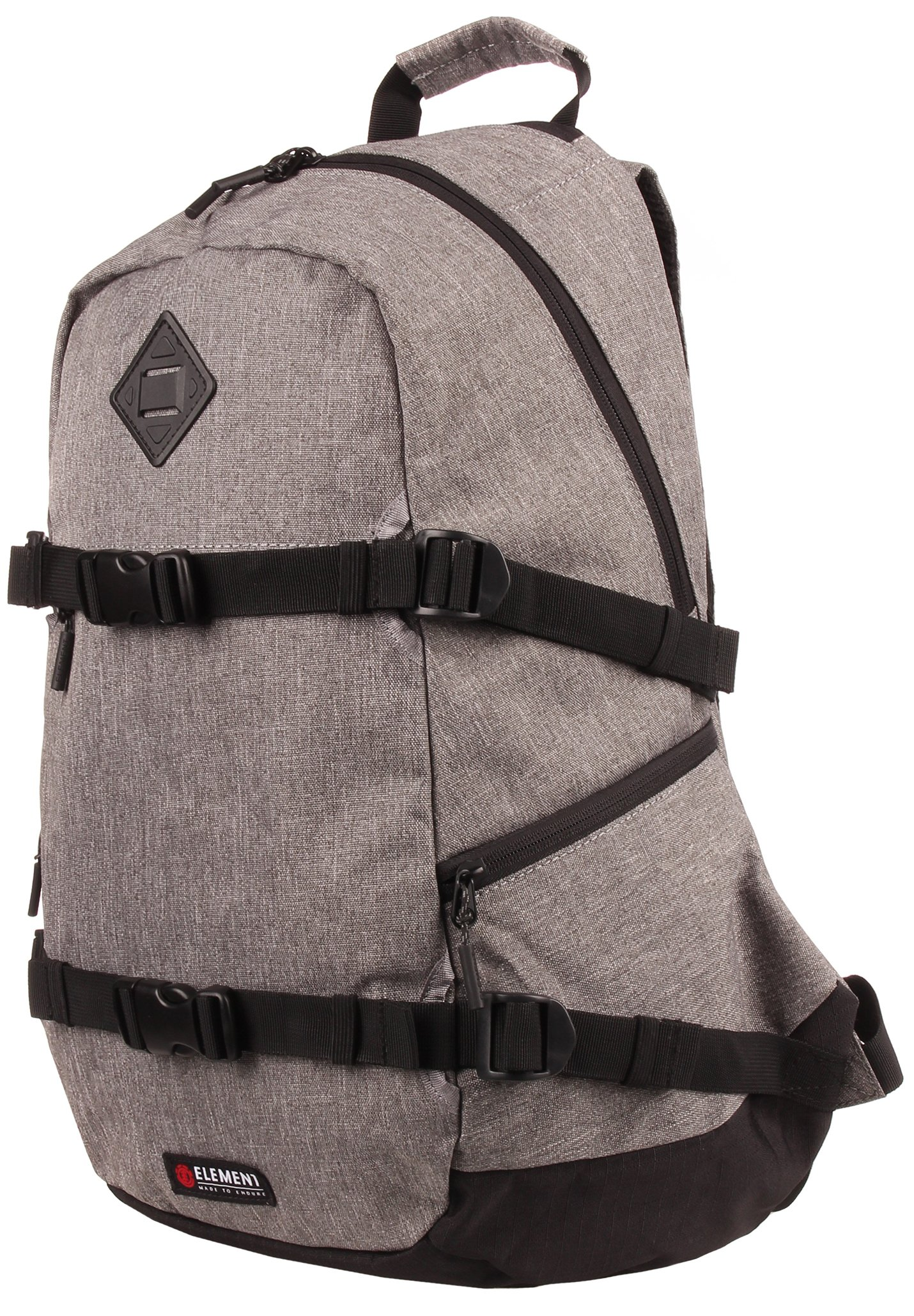 Element JAYWALKER - Tagesrucksack - grey heather/grau - Herrentaschen OTTPW