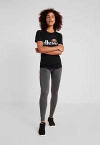 Ellesse - BARLETTA - Print T-shirt - black - 1