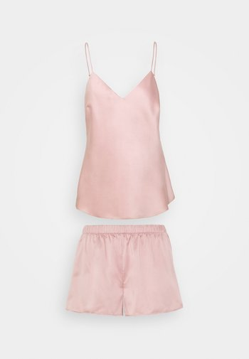 SIMPLE  SHORT SET - Pyjama - pink