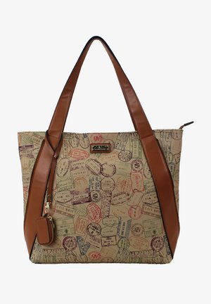 SUMMER PASSPORT - Handbag - safari