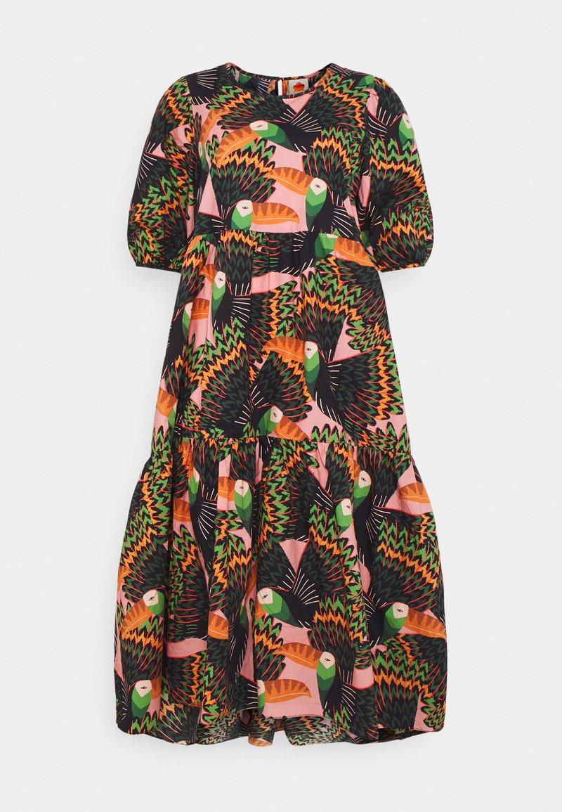 Farm Rio - TUCANI MIDI DRESS - Day dress - multi
