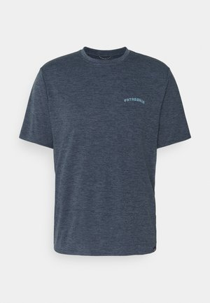 CAP COOL DAILY GRAPHIC - T-shirt med print - smolder blue