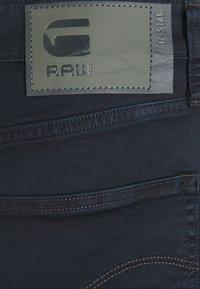 G-Star - 3301 SLIM - Denim shorts - bracket stretch twill - mazarine blue - 2