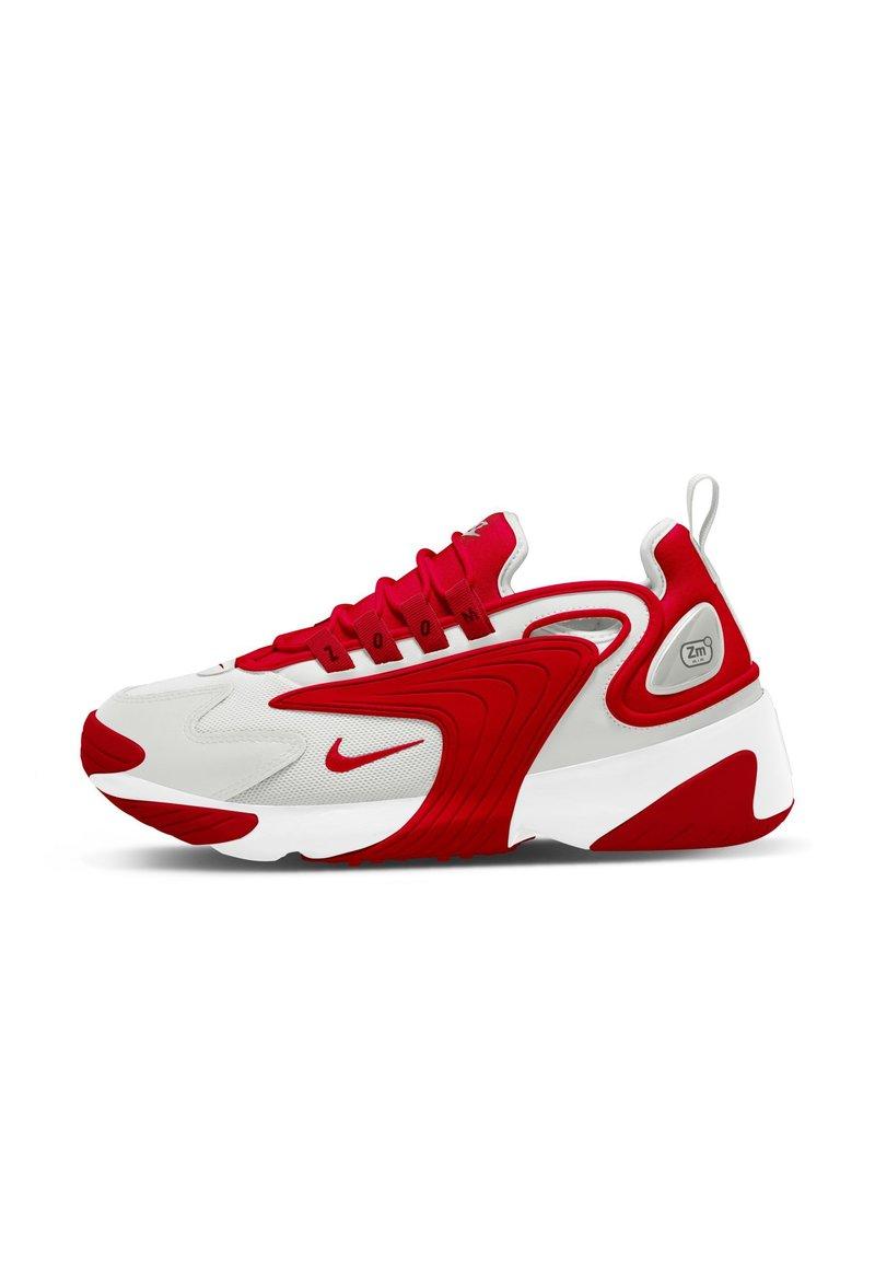 Nike Sportswear - ZOOM  - Sneakers - photon dust/white/university red