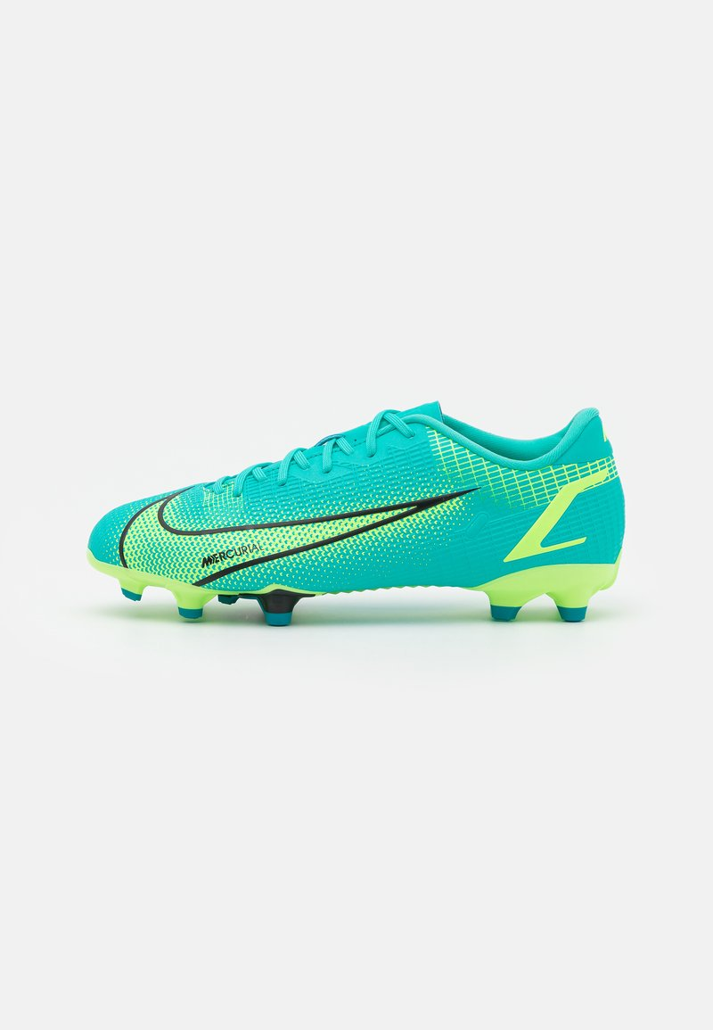 Nike Performance - JR MERCURIAL VAPOR 14 ACADEMY FG/MG UNISEX - Moulded stud football boots - dynamic turqoise/lime glow