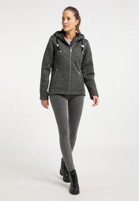 ICEBOUND - Fleece jacket - dunkelgrau melange - 1