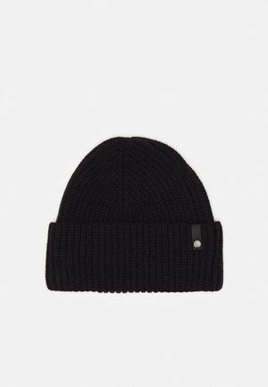 BEANIE UNISEX - Megzta kepurė - black