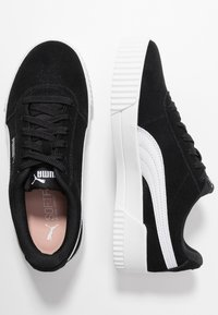 Puma - CARINA - Sneakers - black/silver - 3