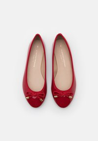 Dorothy Perkins Wide Fit - WIDE FIT BOW - Ballet pumps - red - 5