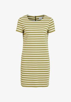 Jersey dress - green olive 1