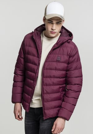 BASIC BUBBLE - Light jacket - red