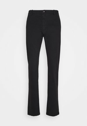 STEEN-STOFFHOSE - Pantalones - black