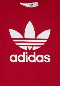 adidas Originals - TREFOIL CREW - Sweatshirt - scarlet/white - 3