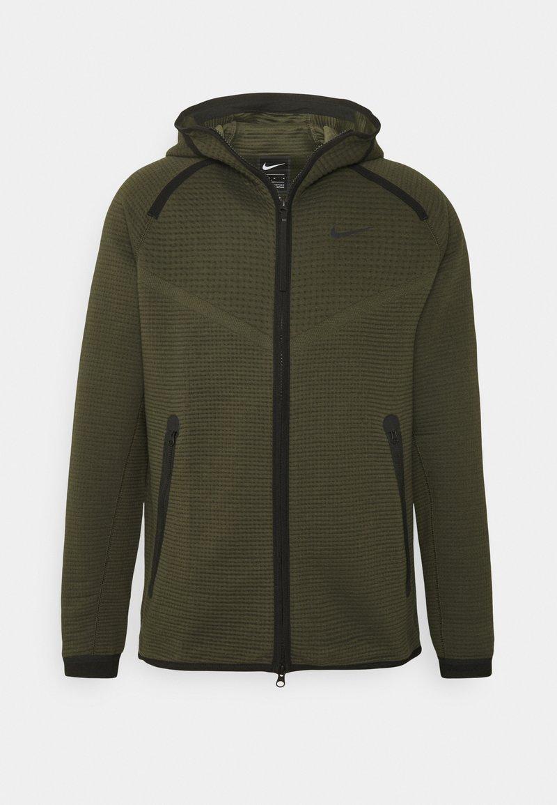 Nike Sportswear - HOODIE  - Zip-up hoodie - sequoia/cargo khaki/black