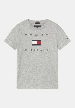 LOGO - T-shirt imprimé - light grey heather
