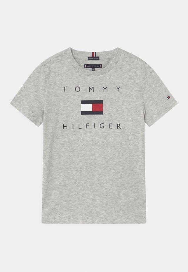 LOGO - T-shirts print - light grey heather