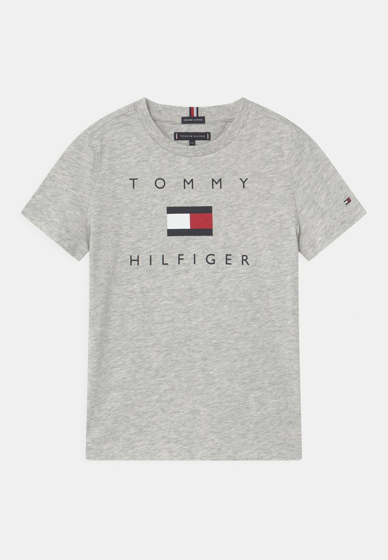 Tommy Hilfiger - LOGO - Triko spotiskem - light grey heather