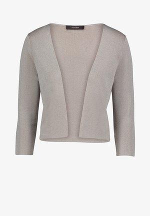 Cardigan - silver/beige