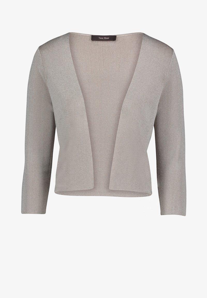 Vera Mont - Cardigan - silver/beige