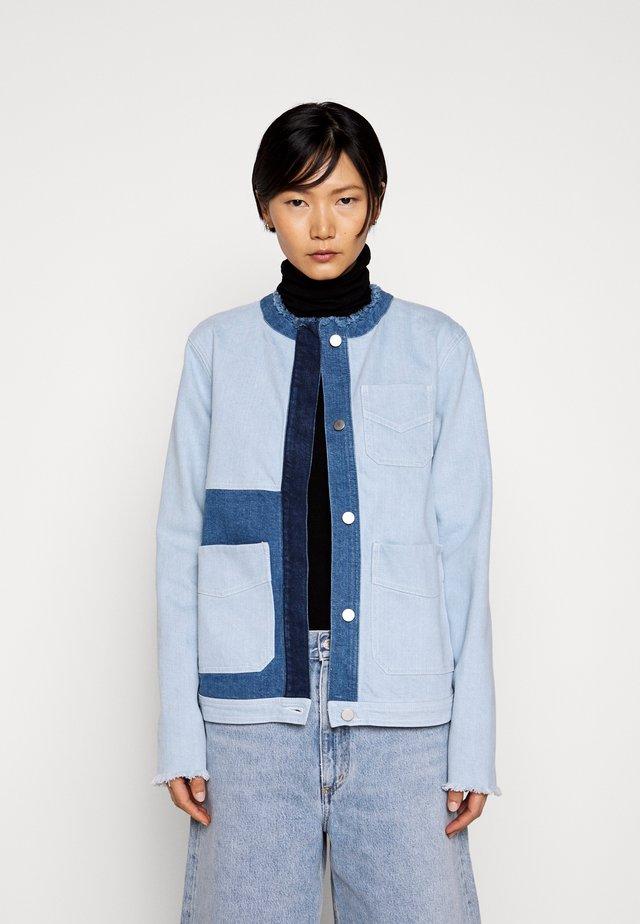 AGDAL - Giacca di jeans - blue