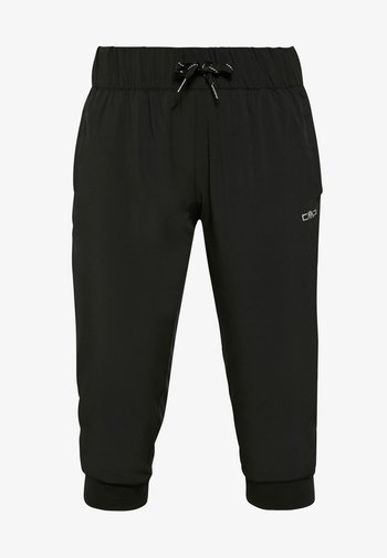 WOMAN PANT 3/4 - 3/4 sports trousers - nero