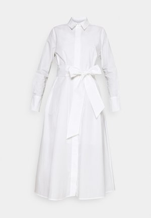 SHIRT DRESS MIDI LENGTH - Day dress - bright white