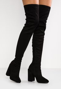 RAID - EDITTA - Boots med høye hæler - black - 0