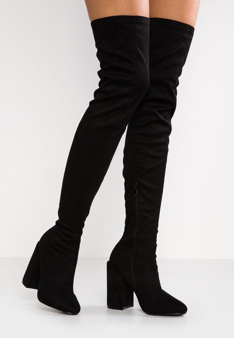 RAID - EDITTA - Boots med høye hæler - black