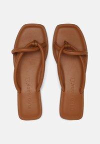Vero Moda - VMFLINO - T-bar sandals - cognac - 4